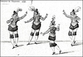 4 danseurs de Sarabande