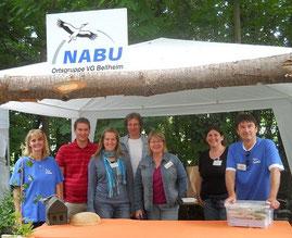 Info-Stand (Foto: NABU-Bellheim)