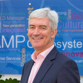 Champ Cargo Systems is the main sponsor of the TIACA Sustainability Awards. Pictured here is CHAMP CEO Chris McDermott – company courtesy