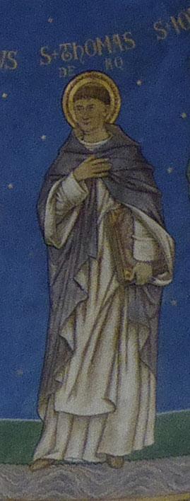 * Thomas van Aquino - ca. 1225-1274 *