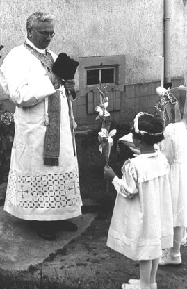 Geistl. Rat Karl Ludwig Riehle, Pfarrer in Malsch von 1927 bis 1952