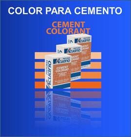 Color para pisos, aplanados y adoquines