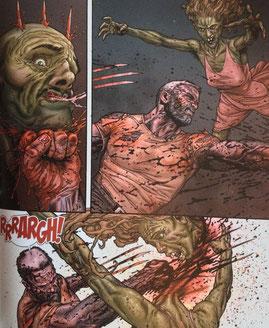 So sieht es aus, wenn Logan in seine berühmte Berserker-Wut verfällt