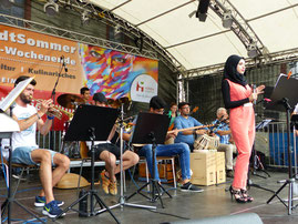 Foto: Orientalband der Musikschule Hofheim (Peter Kolar)