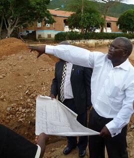 Father John in Malawi