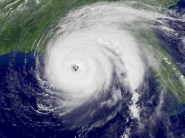 Hurricane Katharina vor der amerikanischen Westküste