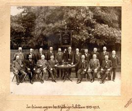 1925: 80 Jahre Liederkranz
