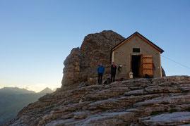 Silberhornhütte, Altläger, Jungfrau, Rotbrettgrat, Rotbrättgrat