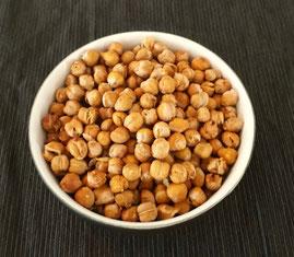 geröstete Kichererbsen, Chick peas, chickpease, healthy snacks, food for athletes,
