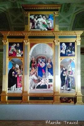 Polittico di San Domenico, Recanati