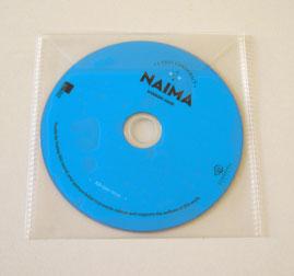 CD en bolsa de plástico