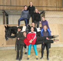 Moritz mit dem M*-Team aus Daun