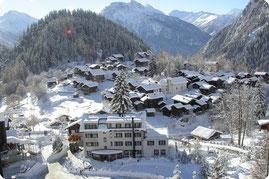 Blatten ob Naters - Wallis / Schweiz
