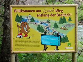 Burmiweg in Hirschegg für alle Kinder ein morz Spaß!