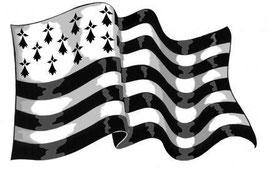Gwennhadu(ブルターニュの旗)