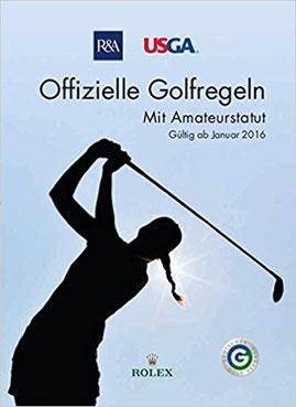 Das aktuelle Golfregelbuch