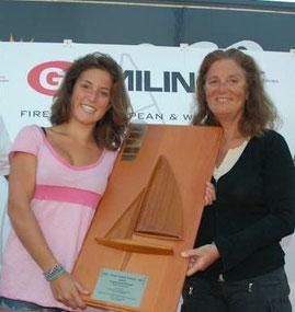 """Enrica Bertini, con la figlia Paola, vittoriose al Mondiale Fireball 2013 """"Fireball Classic Boat"""""""