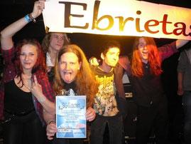 Ebrietas gewinnt 21. Newcomer-Festival