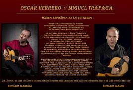 Oscar Herrero y Miguel Trápaga