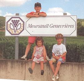 """Trois """"kapoentjes"""" en Côte d'Or (juillet 1995)"""