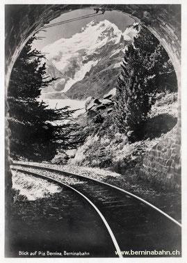 420-104 Eigenverlag Berninabahn, Karte Nr. 12, ungelaufen