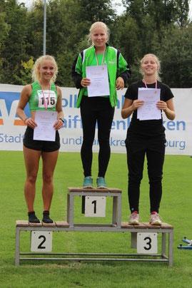 Doppelerfolg im Dreikampf WU16: Leonie Sapper siegt vor Katrin Fischer