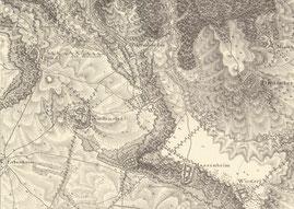 Bild 1: Befestigte Orte im Ländchen, 1801