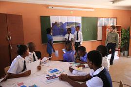 Blick in die Klimawerkstatt, Windhoek 2015