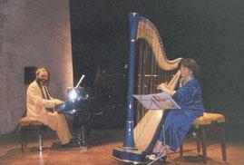 Shimon & Nehama REUBEN. DUO REUBEN.Concert festival ARLES octobre 2002