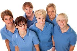 Das Team der Zahnarztpraxis Dr. Petra Pollmeier in Lingen