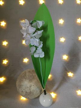 Loisirs créatifs, activités manuelles pour enfants, fête du 1er mai, muguet, carte de voeux, fleurs en papier