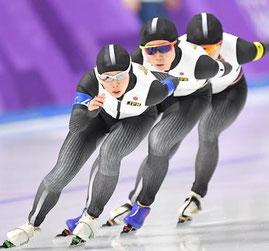 平昌オリンピック 女子パシュート