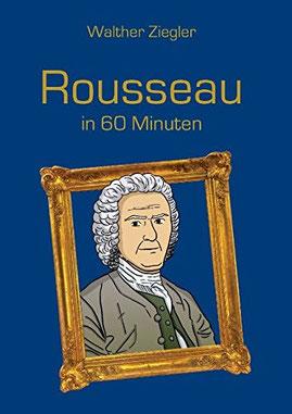 Rousseau; Bild von Jean Jacques Rousseau; Kopf von Rousseau; Kopf von Rousseau in enem Bilderrahmen