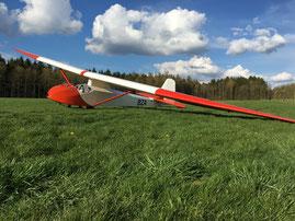 Slingsby T.21B Sedbergh - BGA 1354