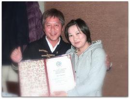 山本愛子さんと(2013-12-22)