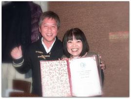 武田良子さんと(2013-12-22)