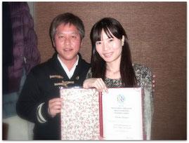 下野仁美さんと(2013-12-22)
