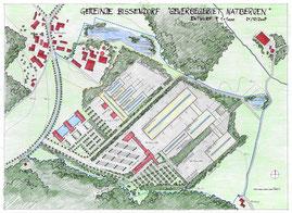 Masterplan für die Ansiedlung der Firmen KOCH und SOLARLUX in Bissendorf-Natbergen