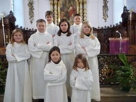 Les servants d'autel de Hagenbach