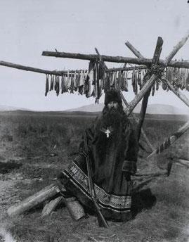 Священник села Гижига, 1901 г.