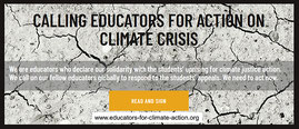 Bild: scrsht CALLING EDUCATORS TO ACTION ON CLIMATE CRISIS