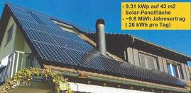 Photovoltaikanlage Grüt