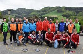 Tradegist 26.04.2019  5. Platz, Streimelweger Karl, Jackl Günter, Fischer Tanja, Halbwachs Johannes