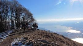 In vetta al Monte Faiè m. 1352