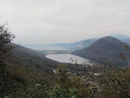 Il lago di Mergozzo e il lago maggiore