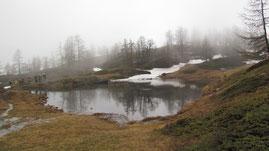 Il lago del Seehorn m. 2027
