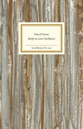 Buchcover: Marcel Proust: Briefe an seine Nachbarin. Insel-Bücherei