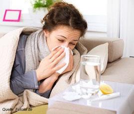 Schon eine ordentliche Erkältung kann Sie für mehrere Tage außer Gefecht setzen.