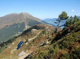 Wandern Schwaz Silberregion ab Ferienwohnung Sumperer