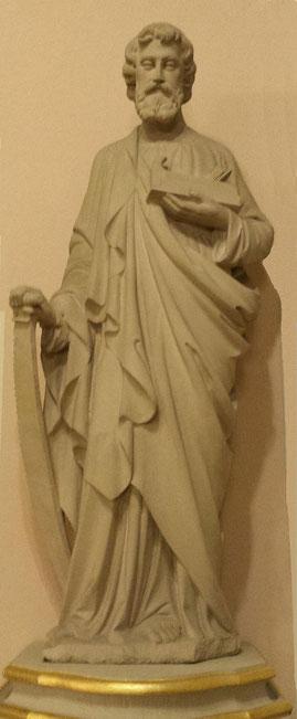 Foto mit einer St. Josef Darstellung in unserer Kirche